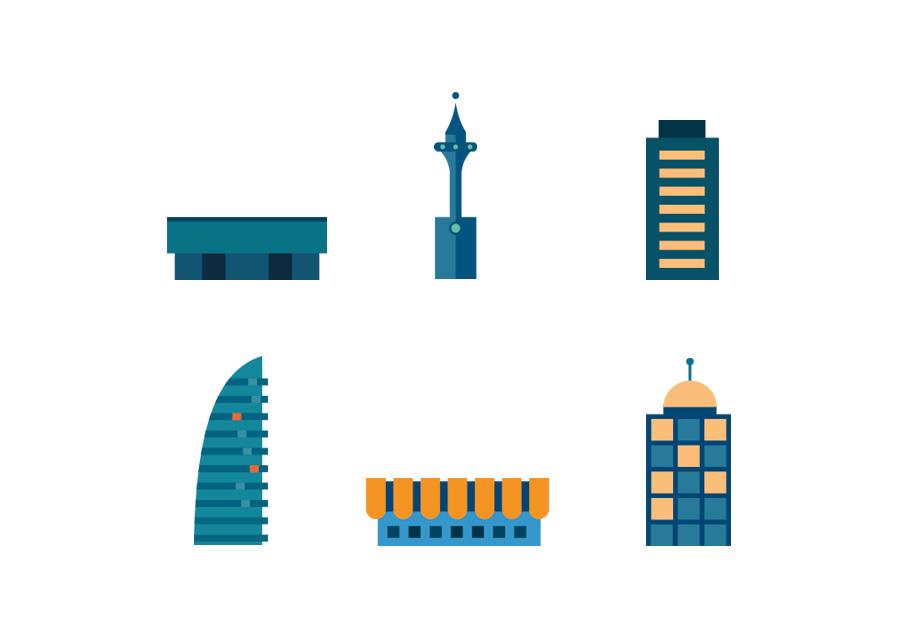 CEHAT ilustración Áreas de actividades 2015